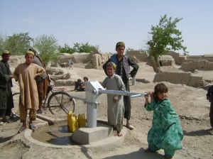 A new well in the Kandahar province.